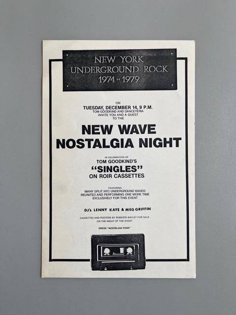Danceteria (Nostalgia Night)