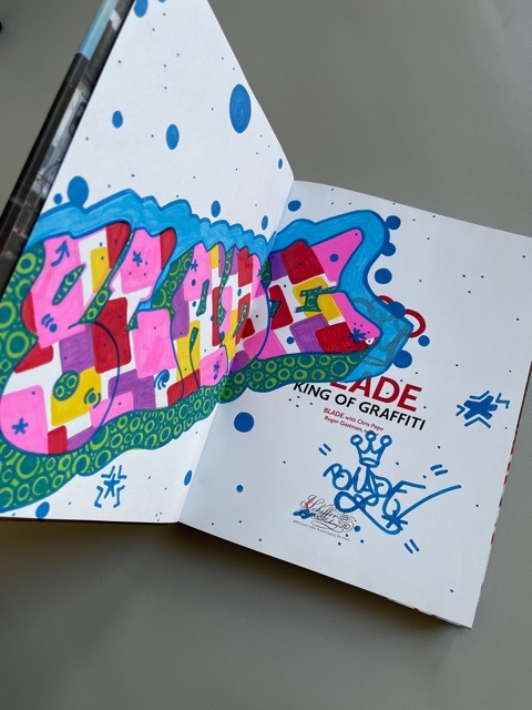 Blade. King of Graffiti (signed)