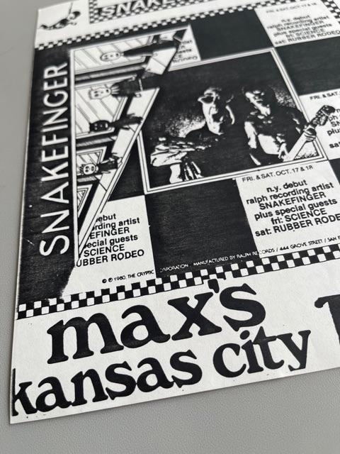Max's Kansas City (1980)