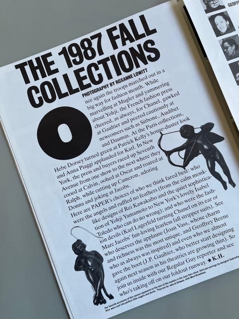 Paper Magazine (May 1987)