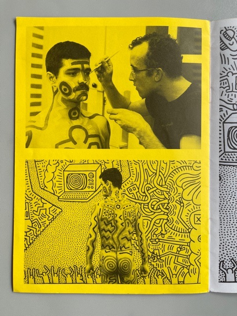 Keith Haring at Paul Maenz (1984)