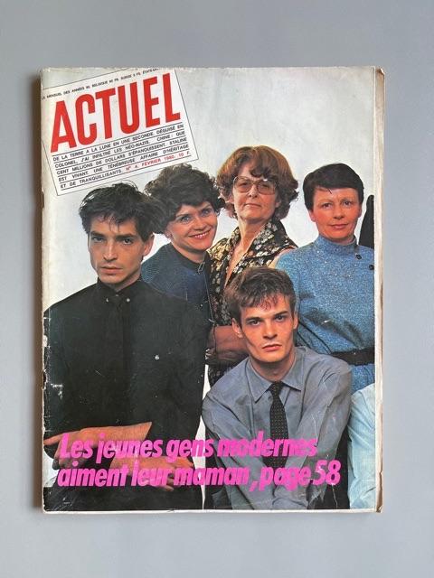 Actuel / Des Jeunes Gens Modernes