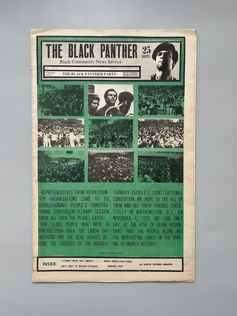 The Black Panther News Service (1970)