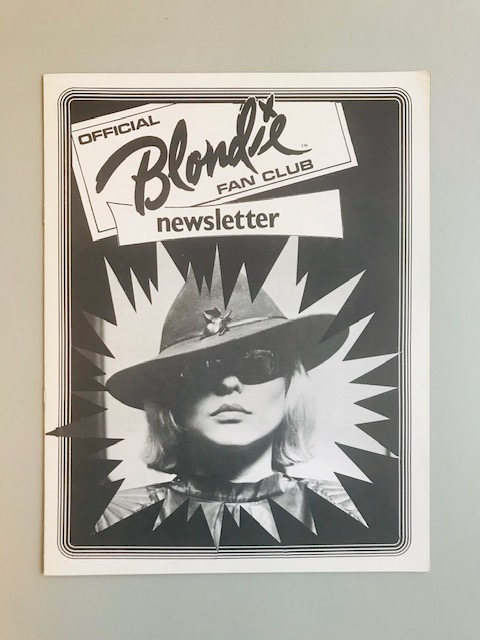Blondie Fan Club