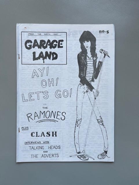 Garage Land n°5 (The Ramones)