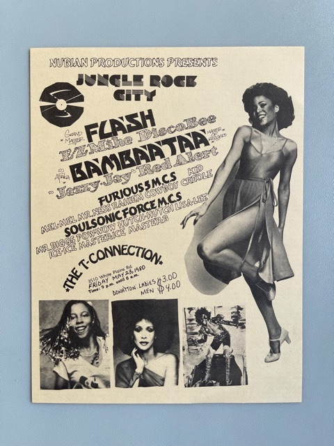 Hip Hop Flyer (1980)