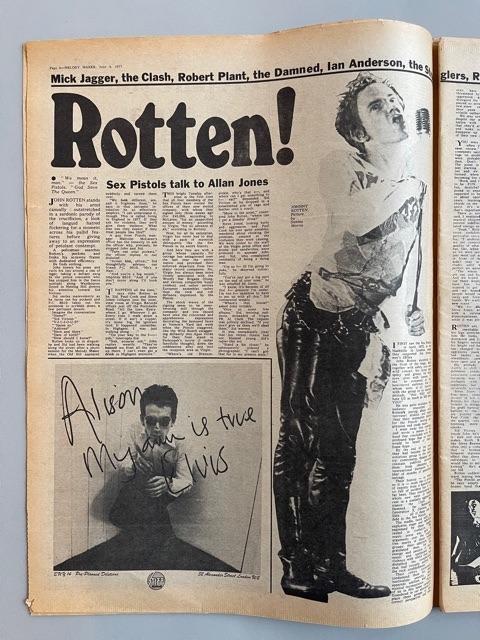 Melody Maker (Sex Pistols)