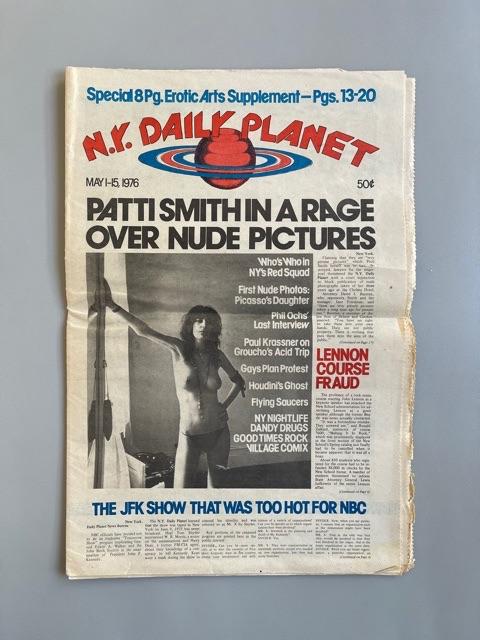 N.Y. Daily Planet (Patti Smith)