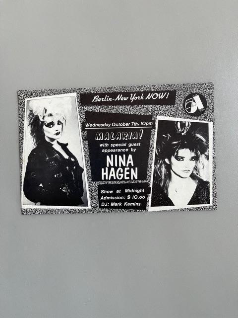 Nina Hagen / Studio 54