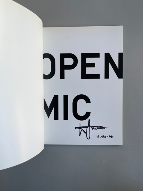 Open Mic (Signed)