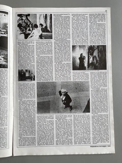Passion. The Magazine of Paris (Jean-Paul Goude)