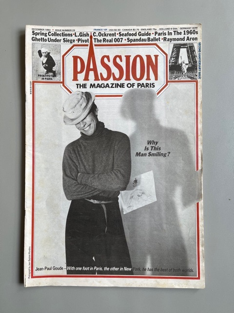 Passion. The Magazine of Paris (Jean-Paul Goude)