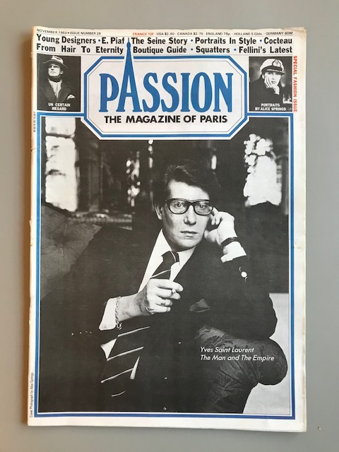 Passion. The Magazine of Paris.