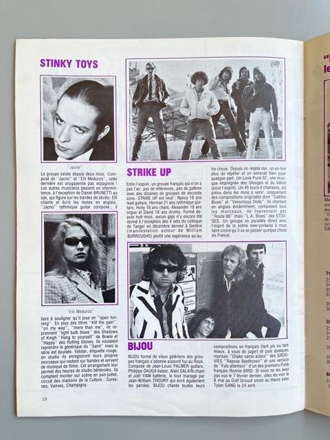 Rock News n°4 / Special Punk