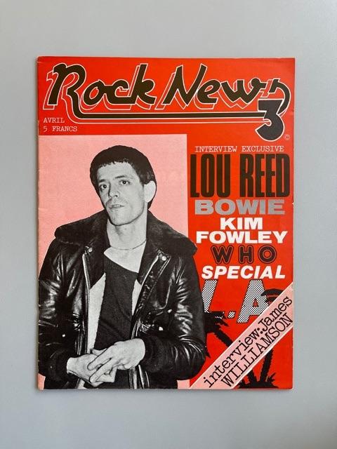 Rock New n°3 (Lou Reed)