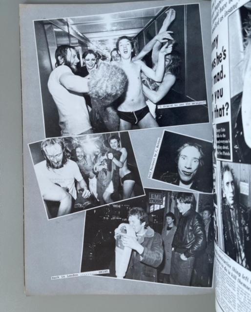 Sex Pistols Scrap Book