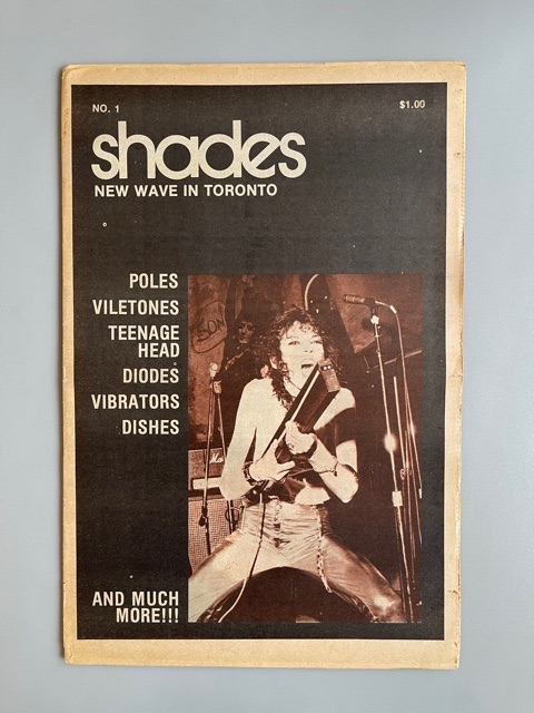 Shades. New Wave in Toronto n°1