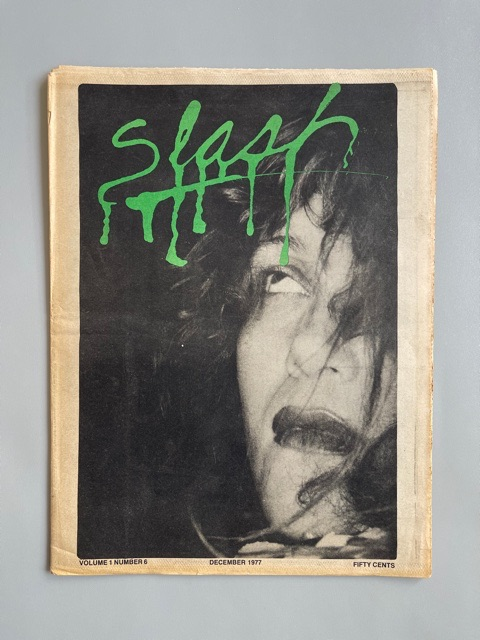 Slash Magazine (December 1977)