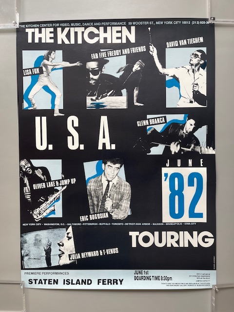 The Kitchen U.S.A. '82 Touring