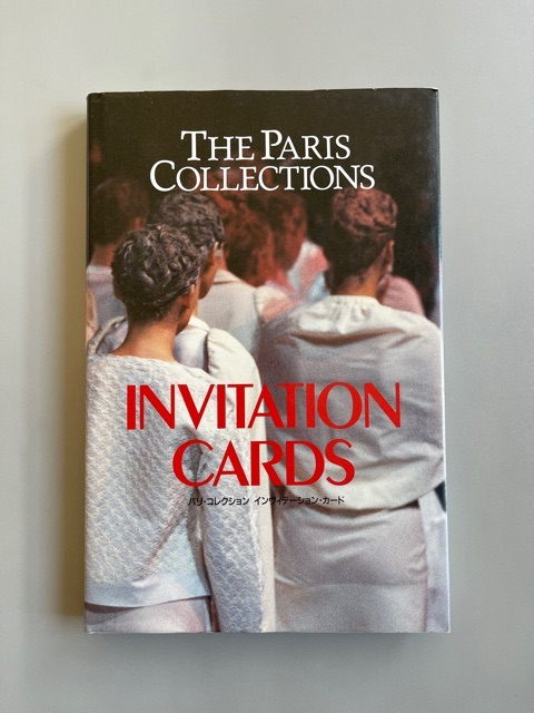 The Paris Collections. Invitation Cards.