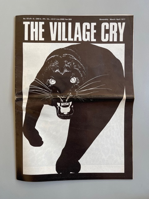 The Village Cry n°3 (1977)